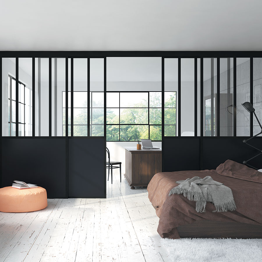 portes de s paration de pi ces franceschini. Black Bedroom Furniture Sets. Home Design Ideas