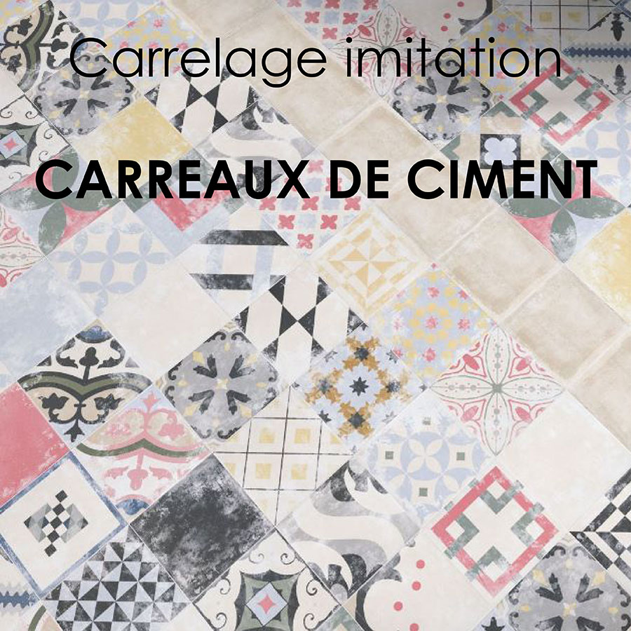 Carrelage imitation carreaux de ciment franceschini for Carrelage imitation carreaux de ciment
